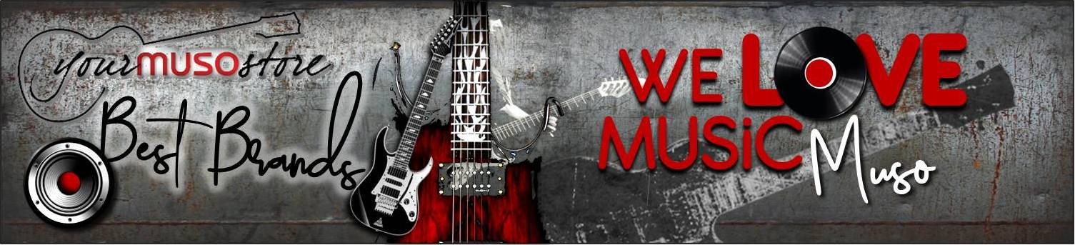 Muso Music Equipment Online Store Backround Big